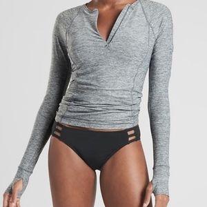 Athleta Pacifica Contoured Top Grey Medium